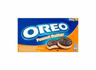 Oreo ice cream peanut butter