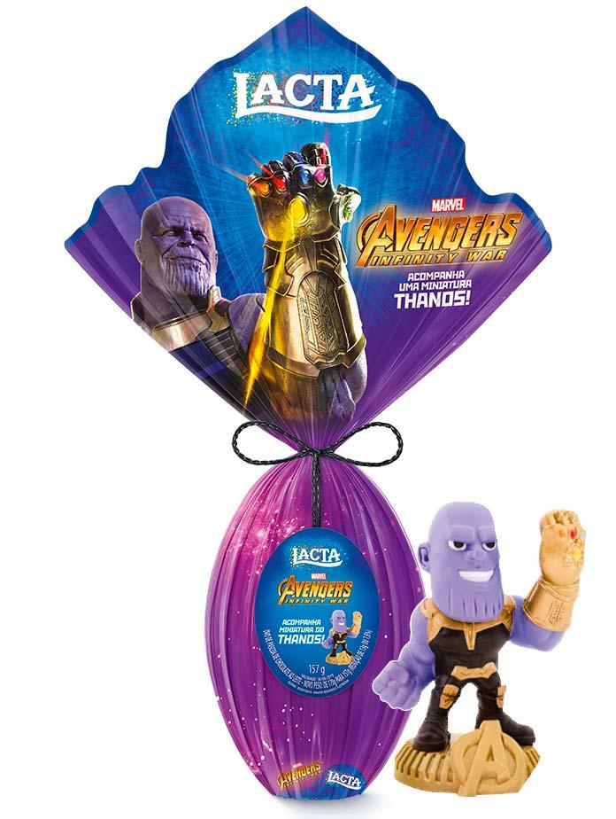 Ovo de Páscoa Thanos Lacta 2019