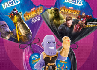 Ovo de Páscoa Thanos Vingadores 2019