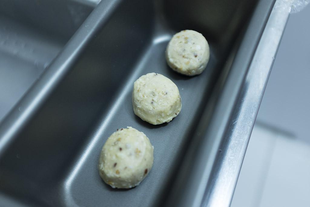 Aparência pão de queijo Fit Forno de Minas