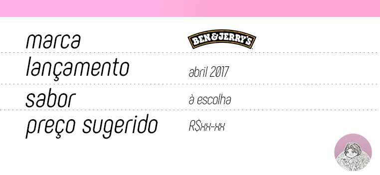 Tabela CHILL-aco Ben & Jerry's