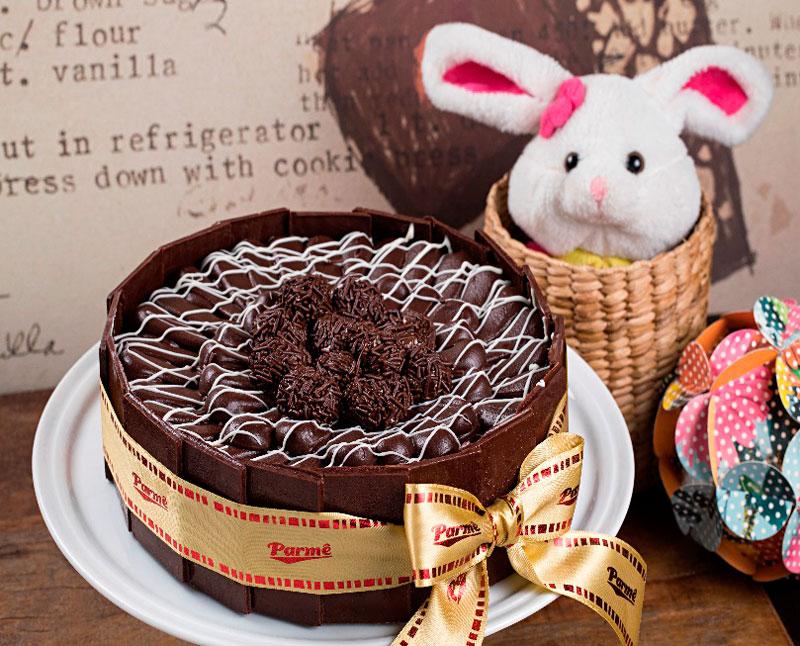 Torta especial para páscoa Parmê