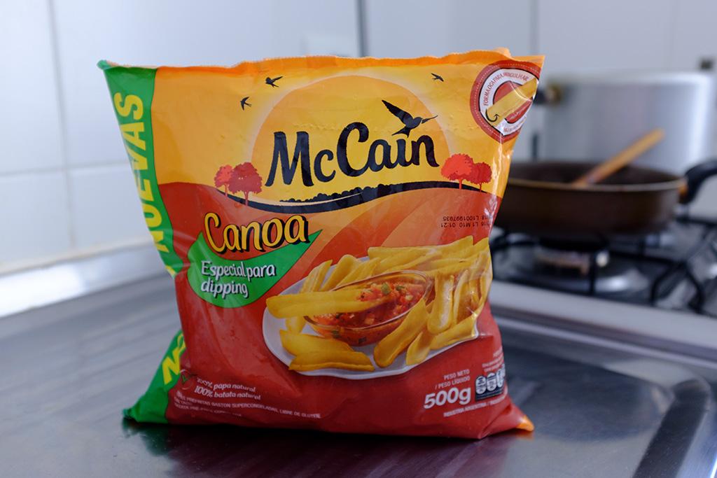 Embalagem batata Canoa McCain