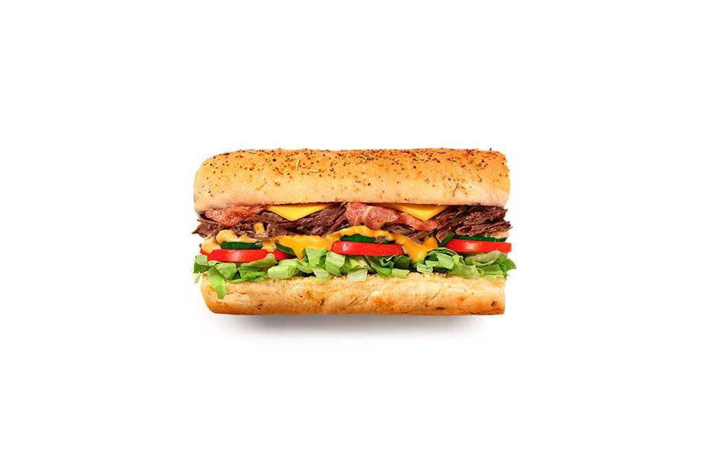 Beef Bacon Chipotle Subway