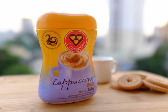 Cappuccino Diet 3 Corações