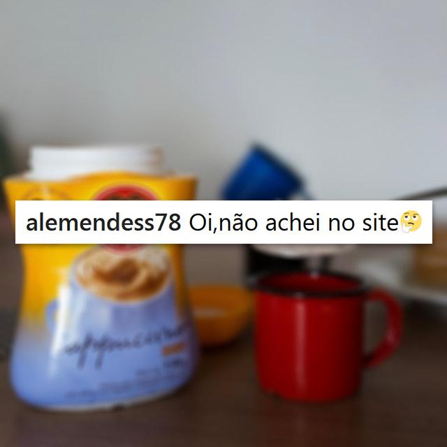 Cappuccino Diet: não achei no site