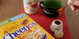 Cereal Cheerios da Nestlé