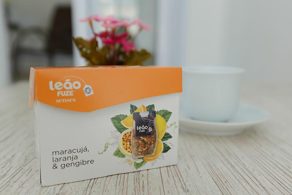 Chá Leão Fuze Senses caixa