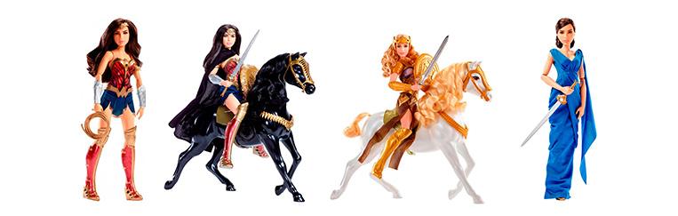 Coleção Mattel Mulher Maravilha