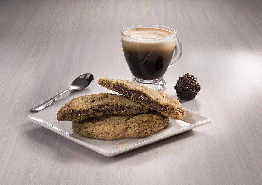 Cookie Starbucks com Nutella