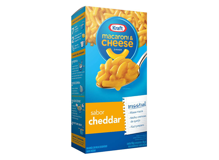 Macarrão Mac&Cheese Cheddar