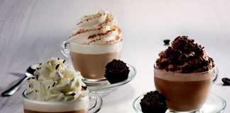 Lançamentos Starbucks café expresso e frappuccino