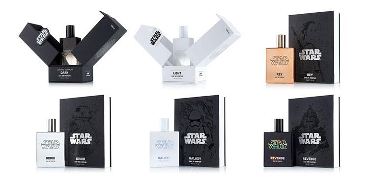 Linha de perfumes 40 anos Star Wars 2