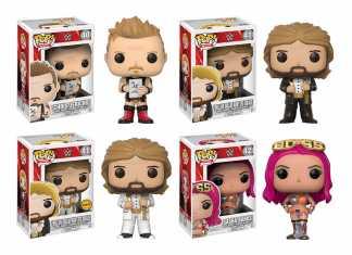 Nova linha Funko Pop WWE