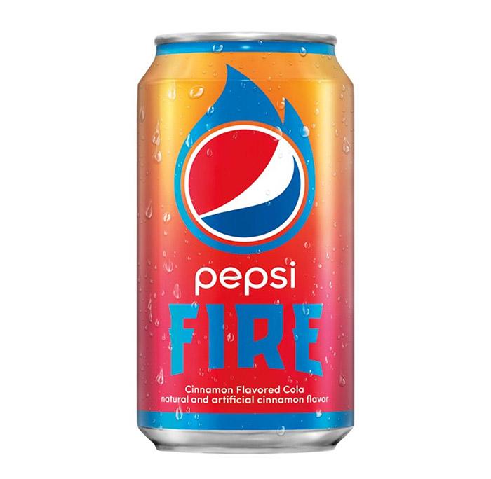 Nova Pepsi Fire EUA lata