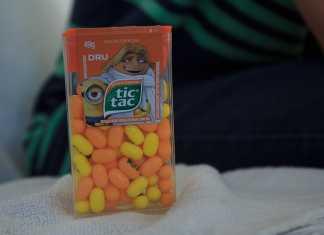 Novo Tic Tac Minions