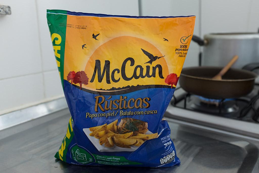 Batata rústica McCain