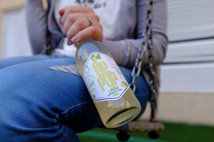 Refrigerante Be Pop de limão