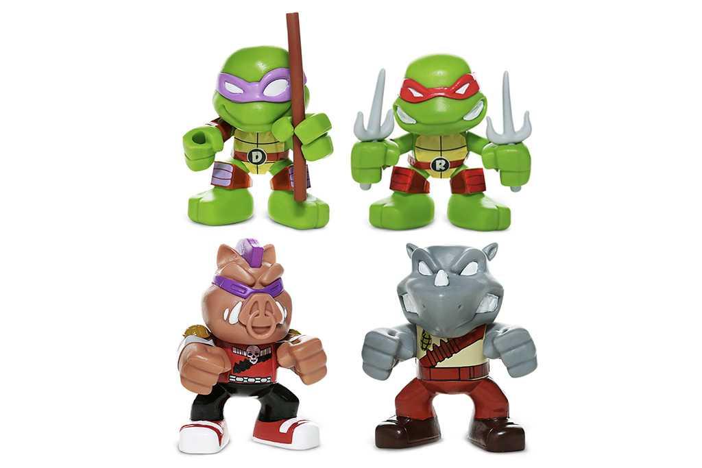Tartarugas Ninja no Bob's