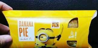 Minions Cardápio especial McDonald's