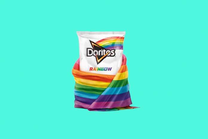 Doritos Rainbow chega ao Brasil