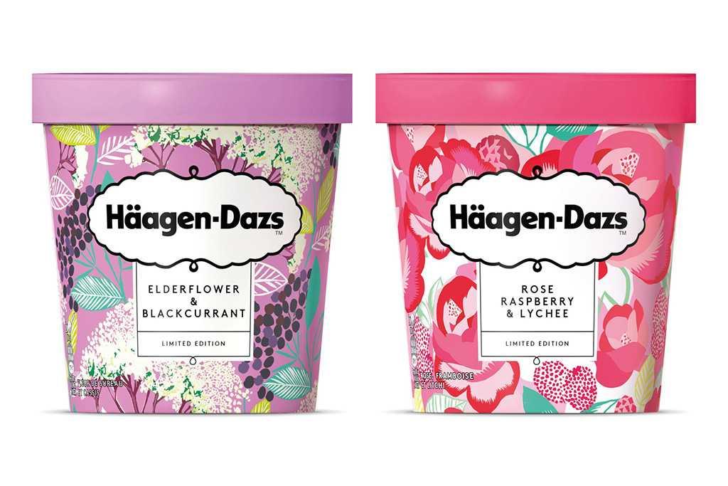 Häagen-Dazs novos sabores de sorvete