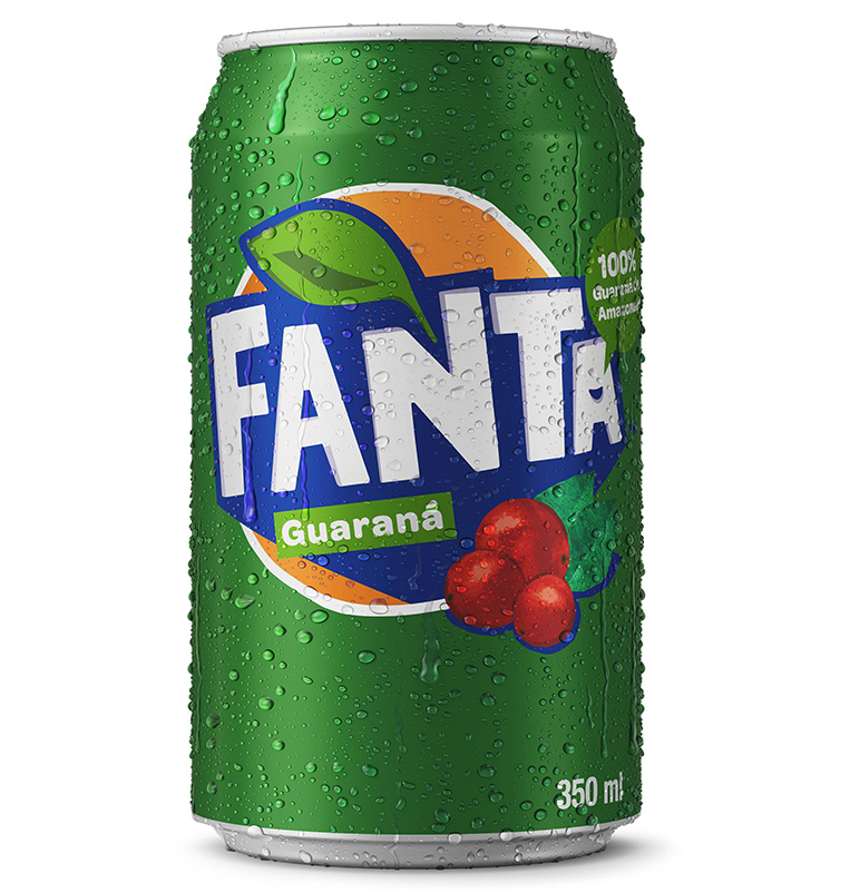 ´Nova Fanta Guaraná 350ml