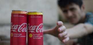 Coca-Cola Laranja e Limão Siciliano