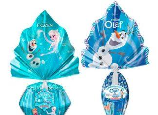 Ovo de Páscoa Frozen