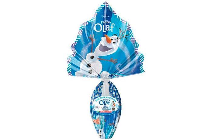 Ovo de Páscoa Olaf (80g)