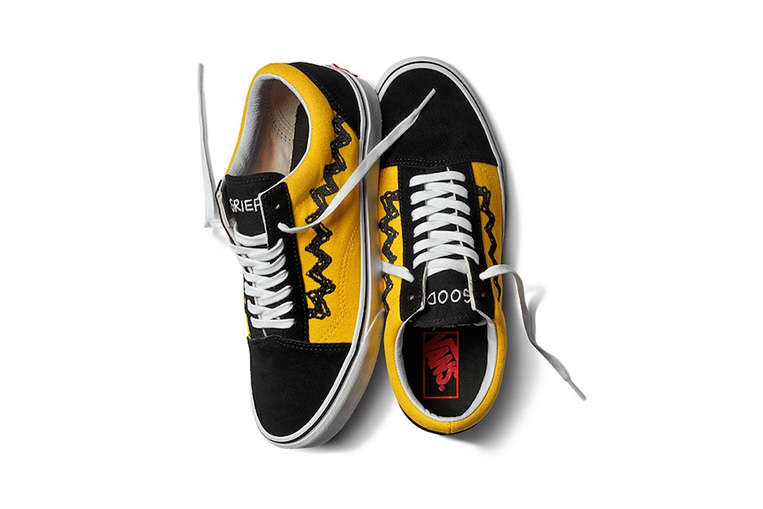 e73aafaab27 (Fotos Reprodução) Vans lança coleção de calçados inspirada nos personagens  de Peanuts