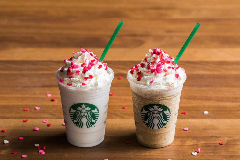 Frappuccino Beijinho e Pão de Mel Starbucks