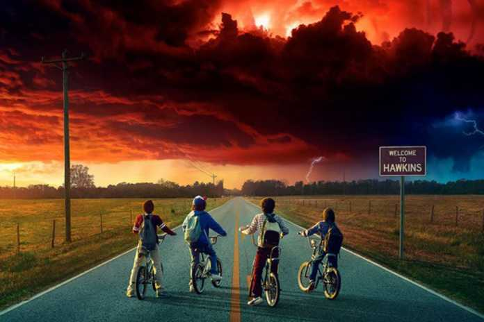 Pôster segunda temporada Stranger Things 2
