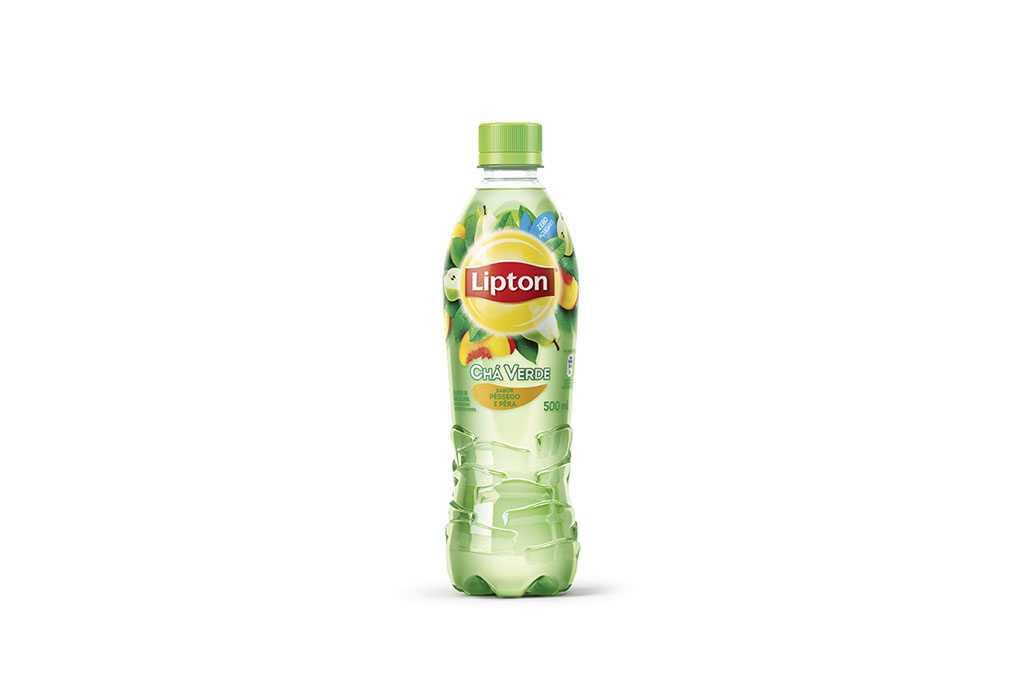 Chá Verde Lipton Pêssego e Pera