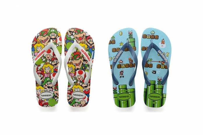 Coleção Havaianas Super Mario