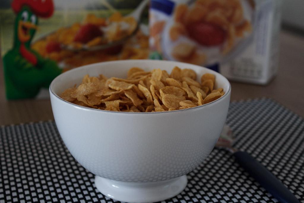 Aparência Corn Flakes Kellogg's X Corn Flakes Nestlé