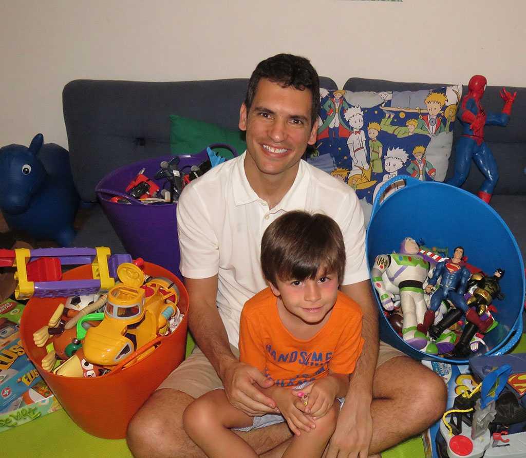 Daniel Pinho fundador do Brincou Trocou