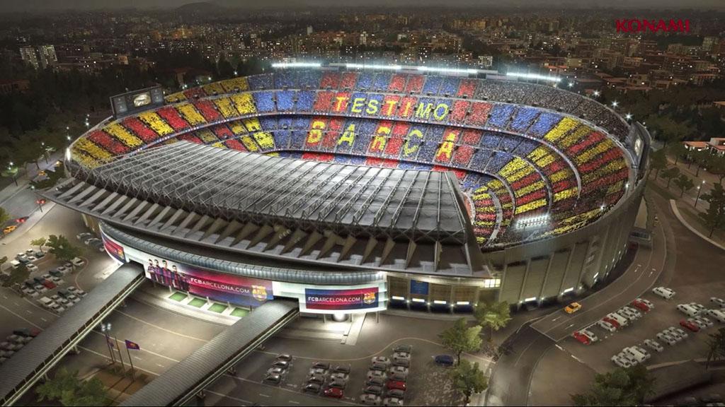 Estádio Barcelona PES 2018