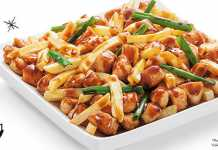 Frango com batata imperial China In Box