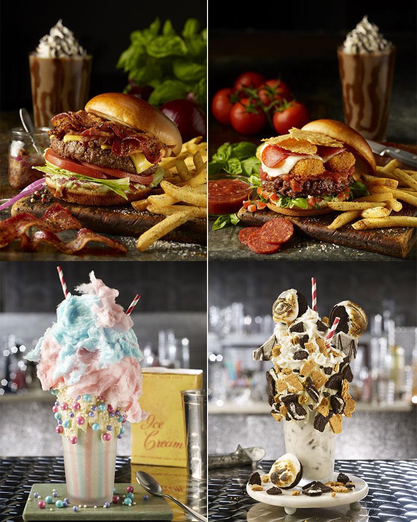 Fridays Hambúrguer e Milk-shake