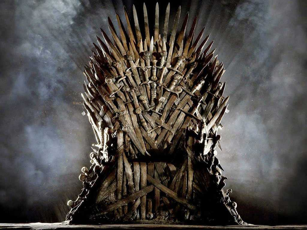 Trono de ferro Game of Thrones