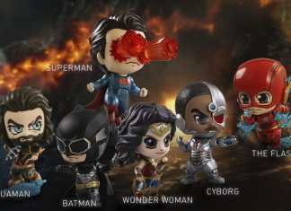 Liga da Justiça Hot Toys