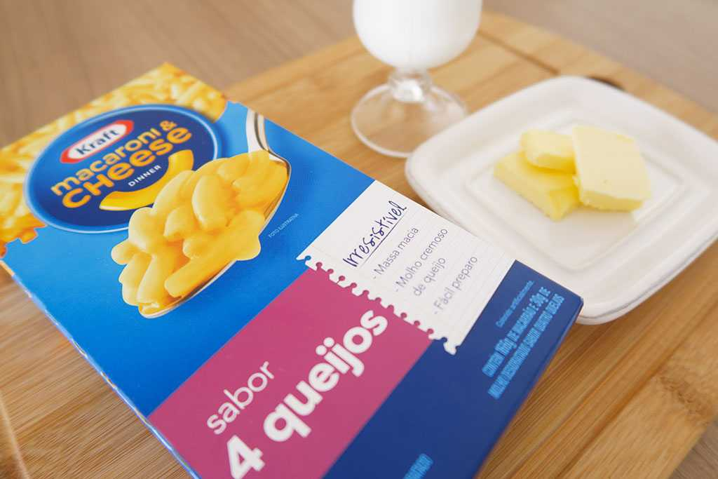 Mac&Cheese 4 Queijos