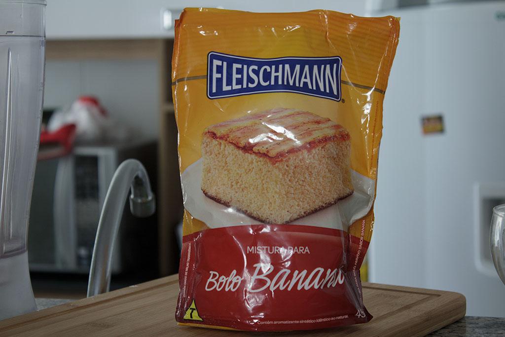 Mistura para bolo de Banana Fleischmann