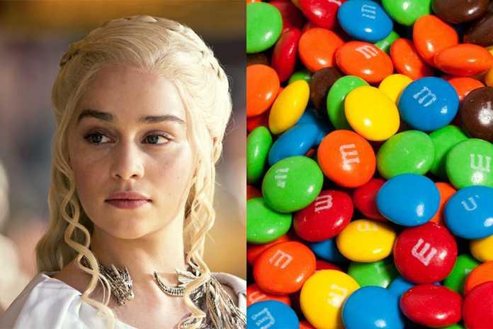M&M's Game of Thrones capa