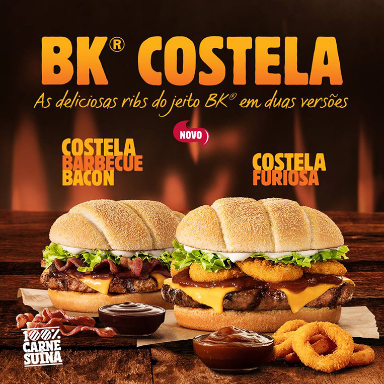 BK Costela Burger King