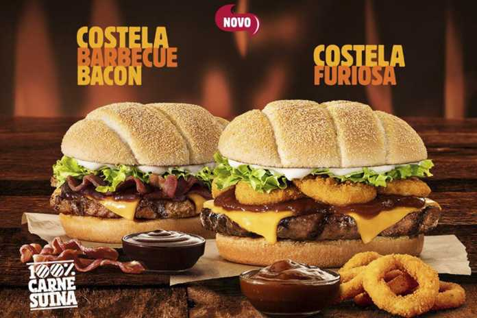 BK Costela Burger King Capa