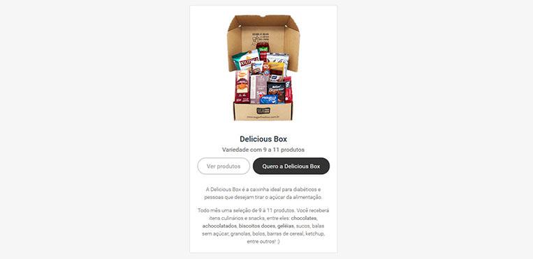 Delicious Box SugarFree Box