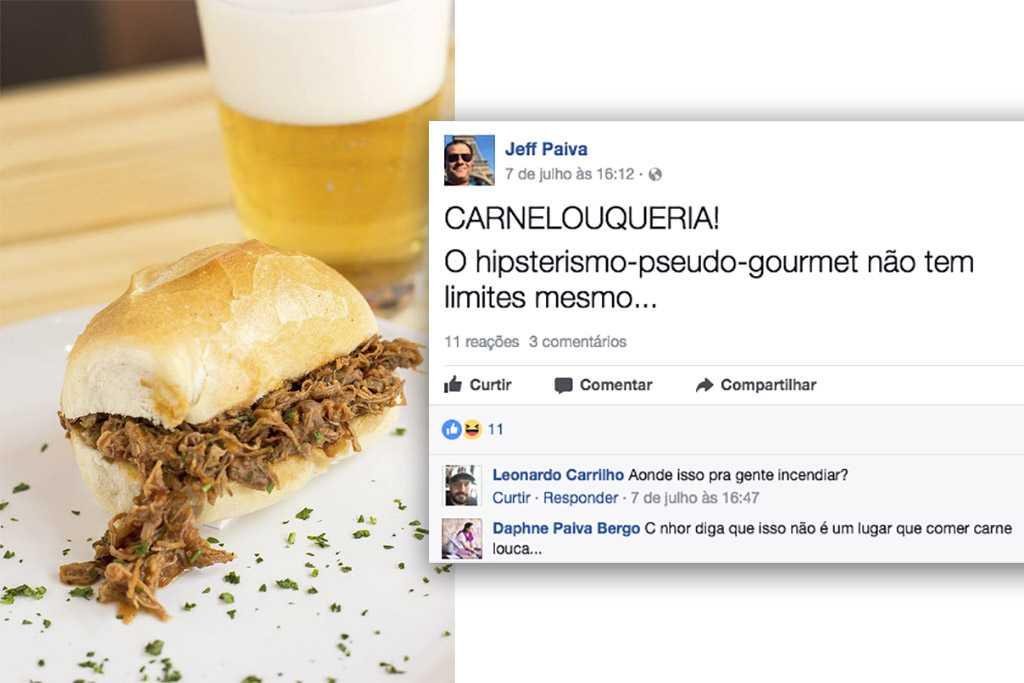 Sanduíche de carne louca - Carnelouqueria