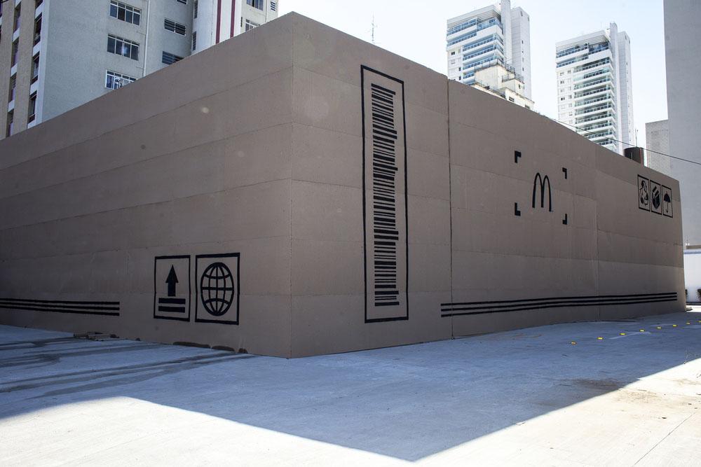 Unboxing loja McDonald's